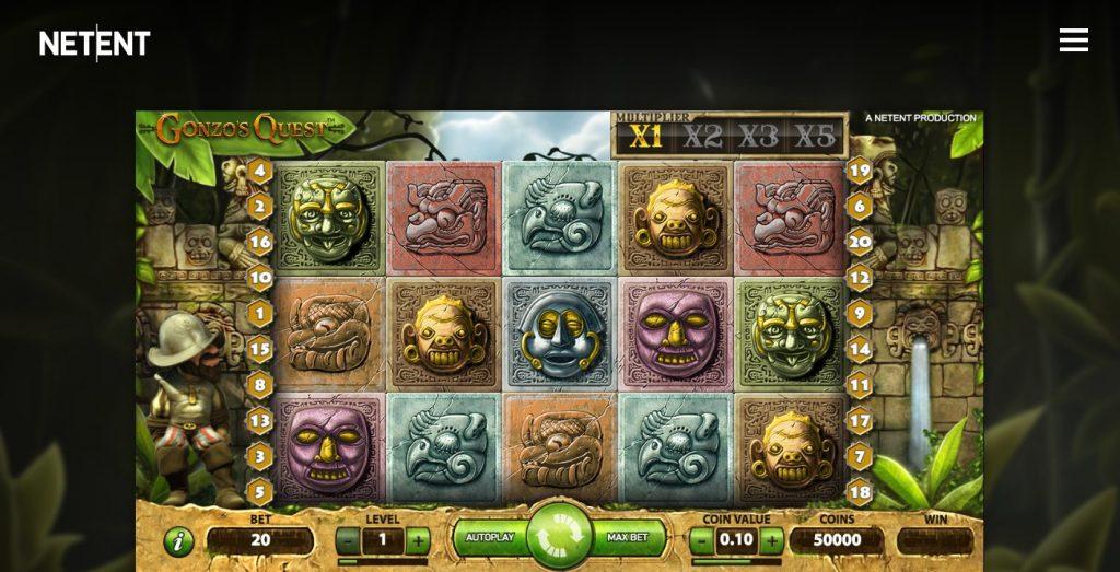 Gonzo's Quest Slotspel