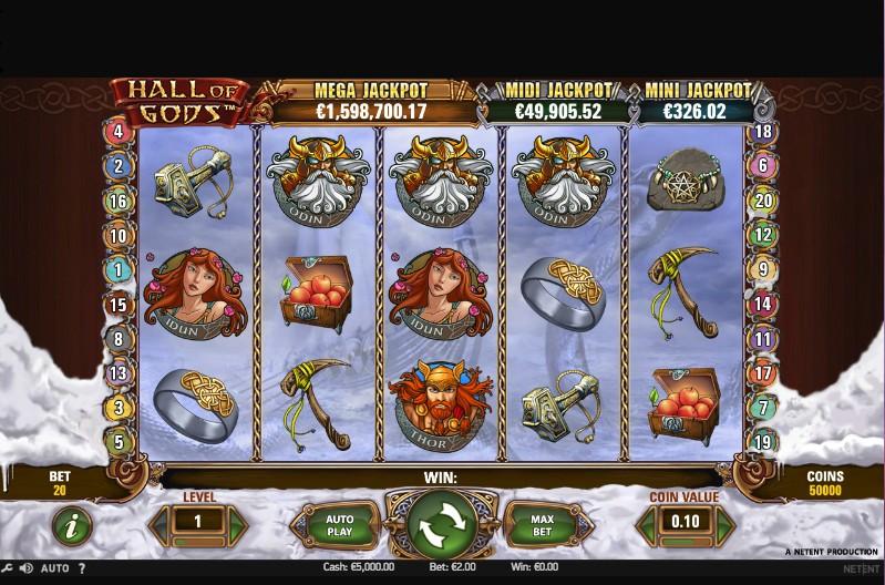 Hall of Gods Screenshot