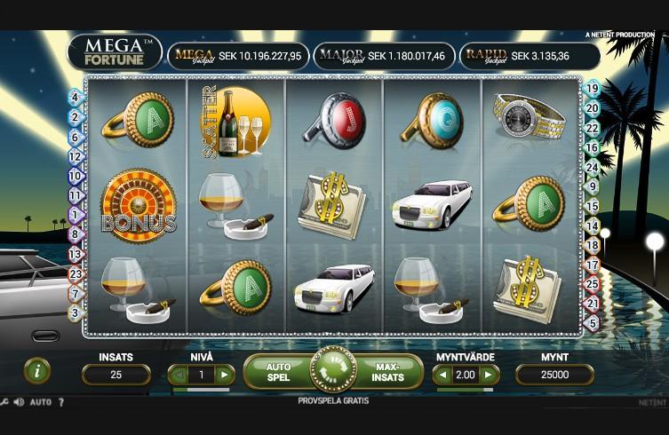 Mega Fortune Slotspel