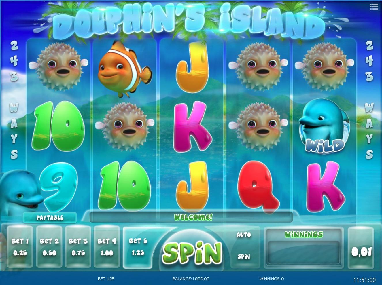 Dolphin's Island slot