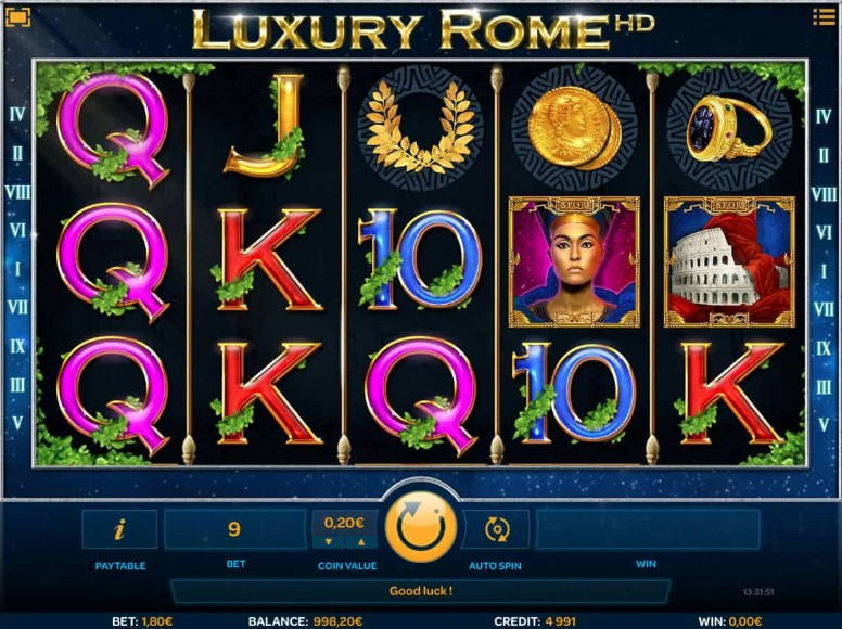 Luxury Rome Slot